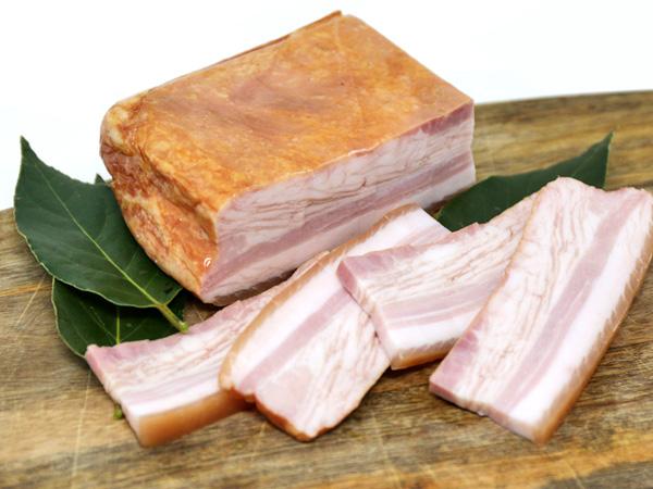 Bacon di maiale
