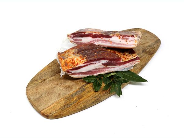 Pancetta Steccata al Peperoncino